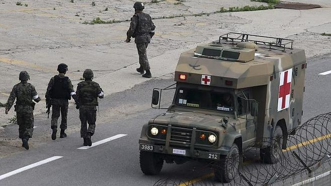 Detenido el militar que mató a cinco compañeros en Corea del Sur