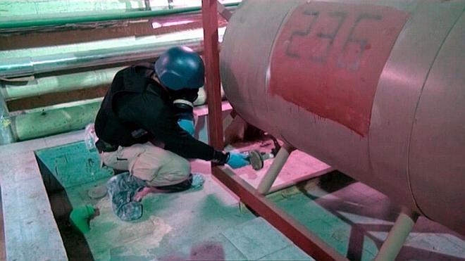 Las últimas armas químicas del régimen de Bachar el-Asad salen de Siria