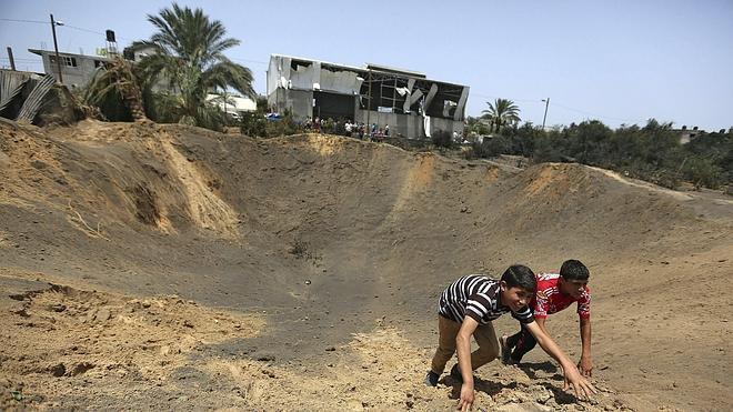 La aviación israelí bombardea objetivos islamistas en Gaza