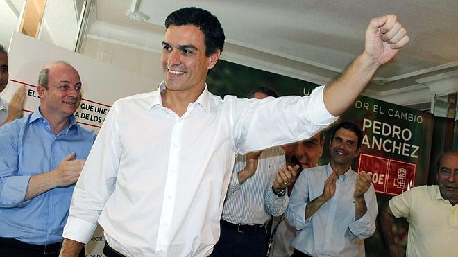 Pedro Sánchez: «Aspiramos a un cambio auténtico, no a un cambio dirigido»