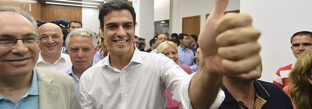 Pedro Sánchez será el próximo secretario general del PSOE