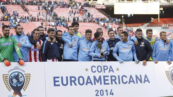 El Atlético gana el primer partido de su gira americana en los penaltis