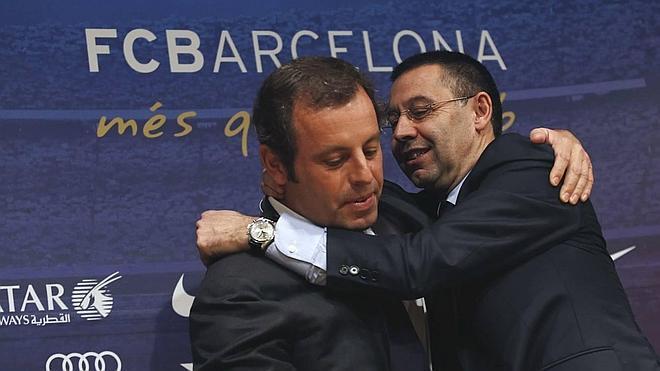 La querella por Neymar se extiende al presidente del Barça