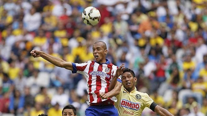 El Atlético de Madrid empata ante el América de México