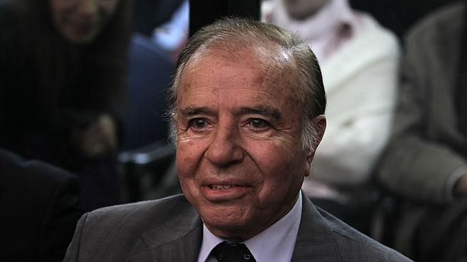 El expresidente Menem asegura ahora que su hijo murió en un atentado