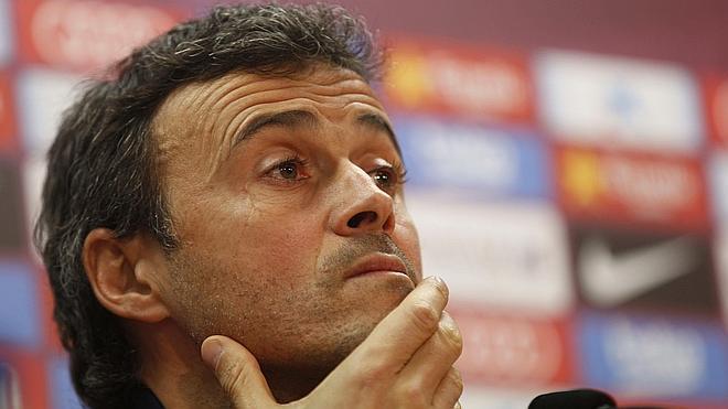 Luis Enrique: «Haberles ganado en Liga nos viene bien»