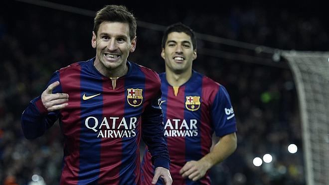 Messi alivia al Barça