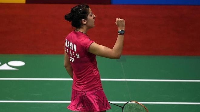 Carolina Marín alcanza las semifinales en la India