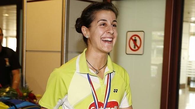 Carolina Marín: «Ha sido especial hacer madrugar a todos los españoles»