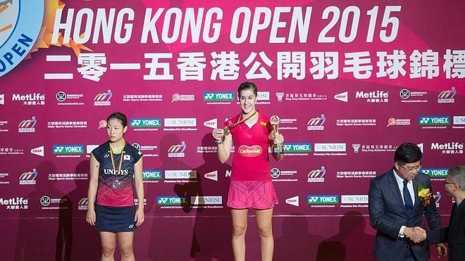 Carolina Marín gana el Open de Hong Kong