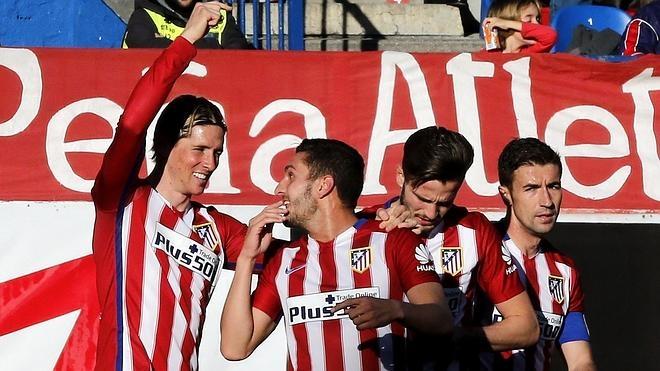 La sociedad 'Koke&Torres' brinda otra victoria colchonera