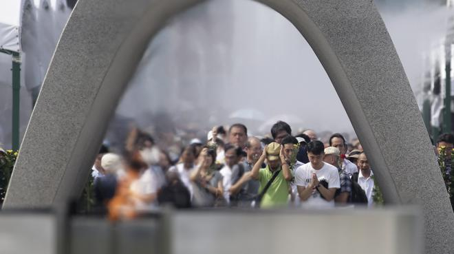 Hiroshima conmemora el primer bombardeo atómico