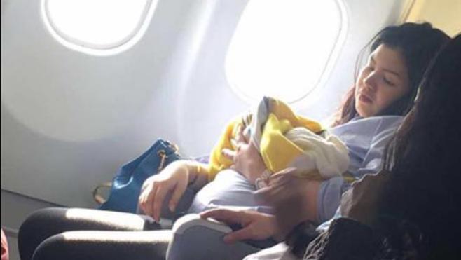 Nace un bebé a bordo de un avión que volaba hacia Filipinas