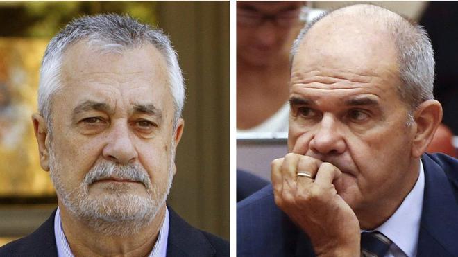 La Fiscalía pide una «pieza de responsabilidad pecuniaria» contra Griñán y Chaves por los ERE