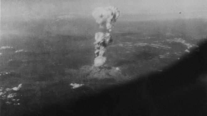 Nuevas fotografías de Hiroshima tras el lanzamiento de la bomba atómica