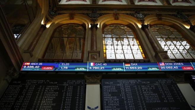 La banca arrebata al Ibex los 9.400 puntos y cae un 0,9% en la semana