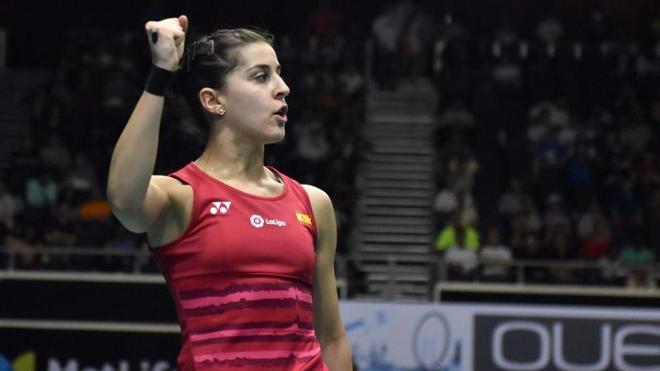 Carolina Marín se juega el título de Singapur contra la número uno