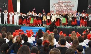 200 niños participan en el Encuentro de Villancicos Escolares