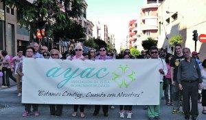 Más de 2.000 vecinos se solidarizan con el cáncer