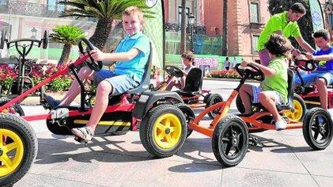 Carreras de karts en La Glorieta