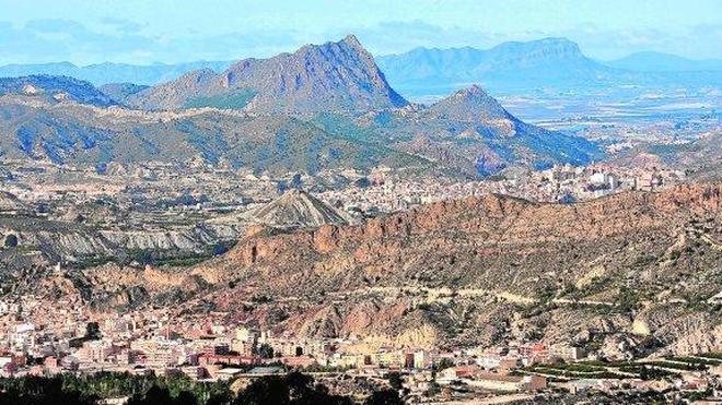 El Valle de Ricote en las alturas
