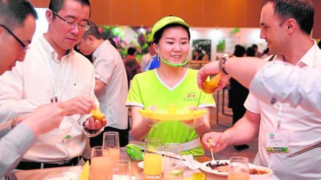 La Comunidad desembarca por primera vez en la feria Asia Fruit Logistic