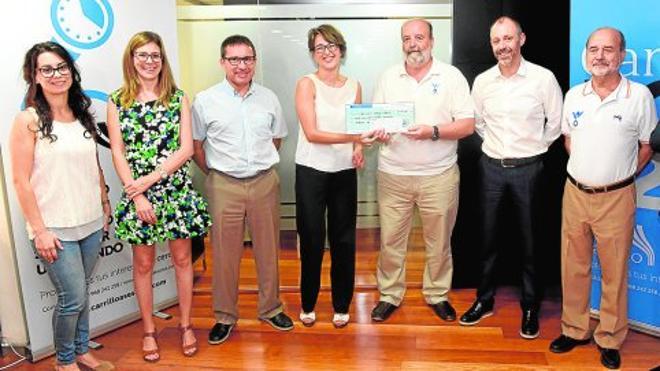 Carrillo Asesores entrega 7.300 euros a la Asociación Pablo Ugarte