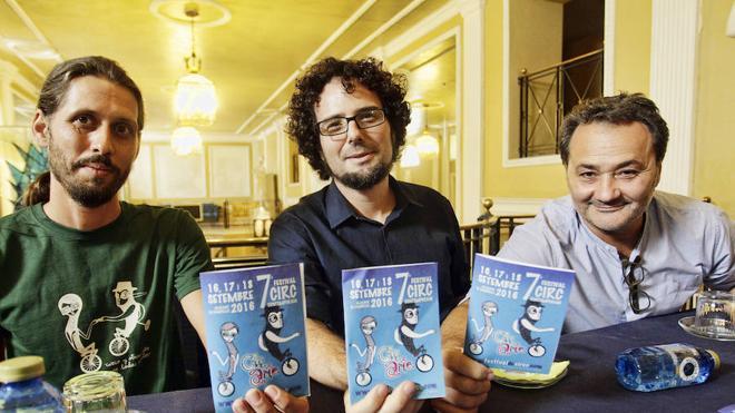 Ayuntamiento y Teatro Principal muestran su apoyo al Festival Circarte