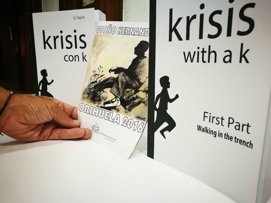 'Krisis con k' recuerda a Miguel Hernández en la biblioteca María Moliner