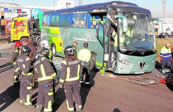 El conductor del autobús escolar accidentado en Madrid tomó cocaína
